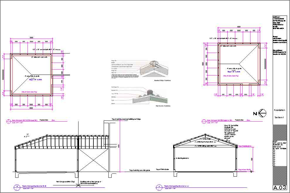 Lindblad architects residential kitchen addition and new for Garage foundation plans